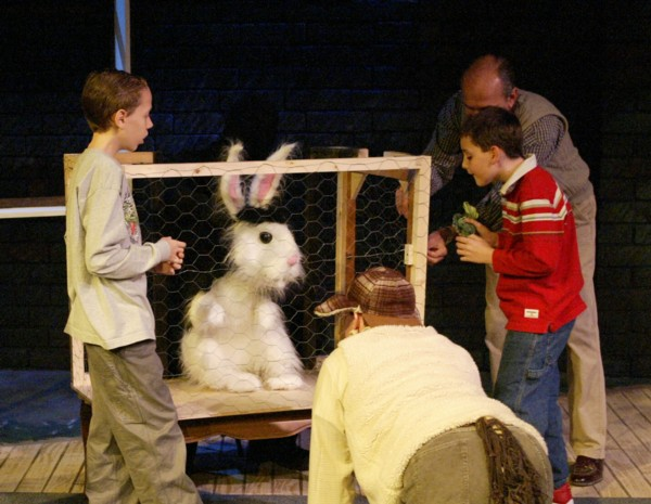 Bunnicula with cast